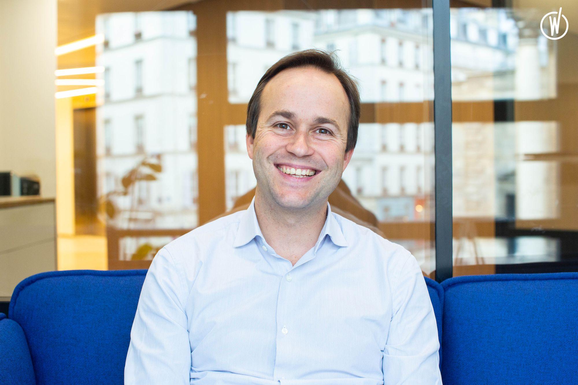 « Je passe 30 % de mon temps de CEO sur la culture d'entreprise », Geoffroy Guigou, Younited Credit